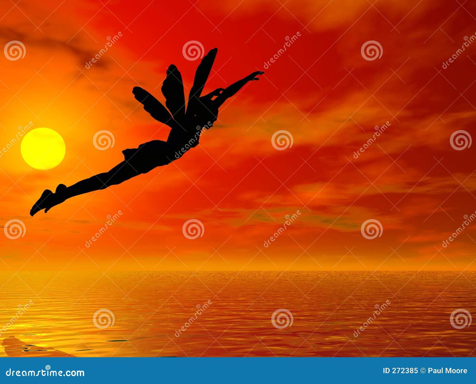 Vlieg voorbij de Zon