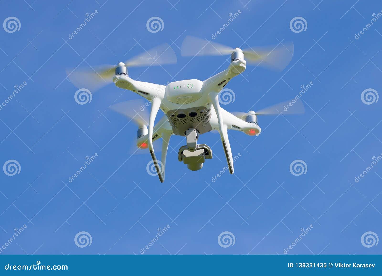 Vliegend quadcopter 'Geavanceerd Spoor 4 '