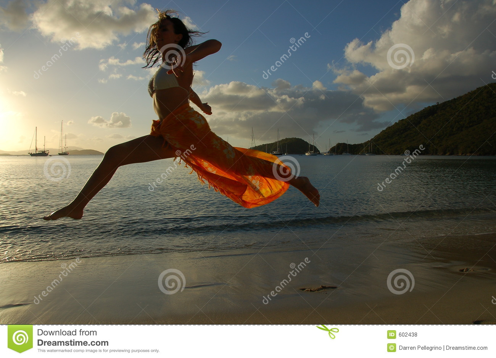 Vliegende vrouw