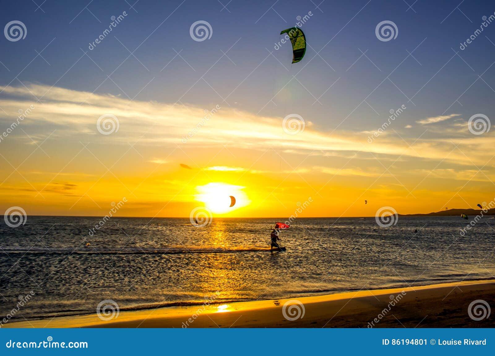 Vlieger het surfen