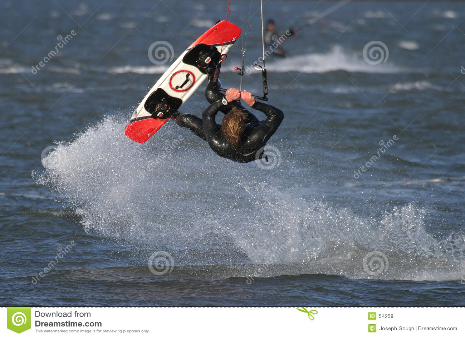 Vlieger Surfer
