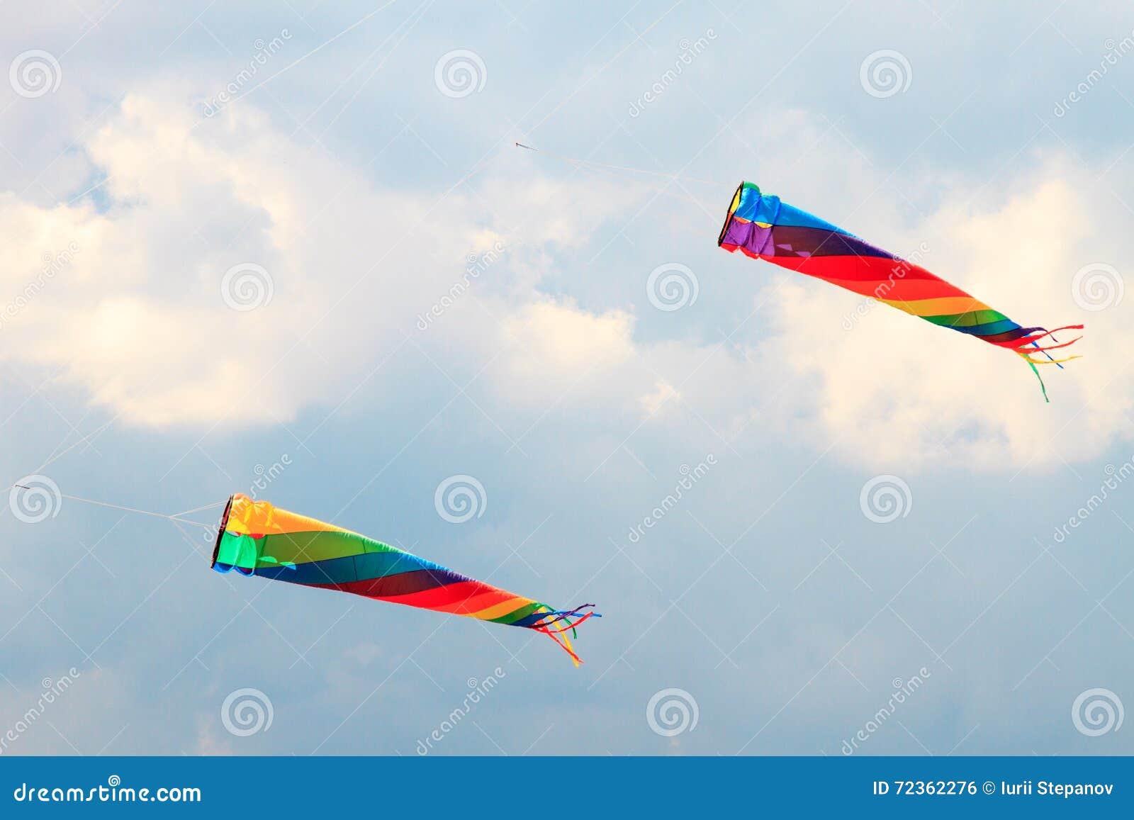 Vliegers in de hemel