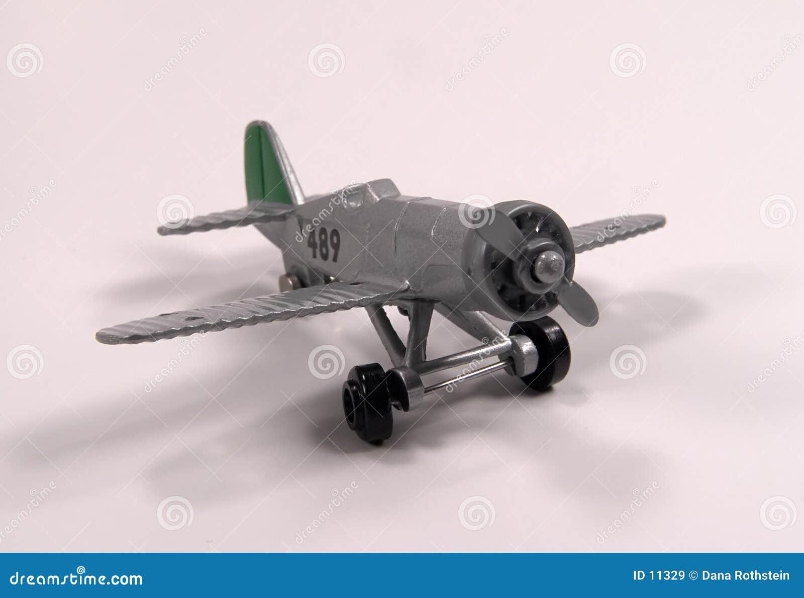 Vliegtuig 2 van het stuk speelgoed