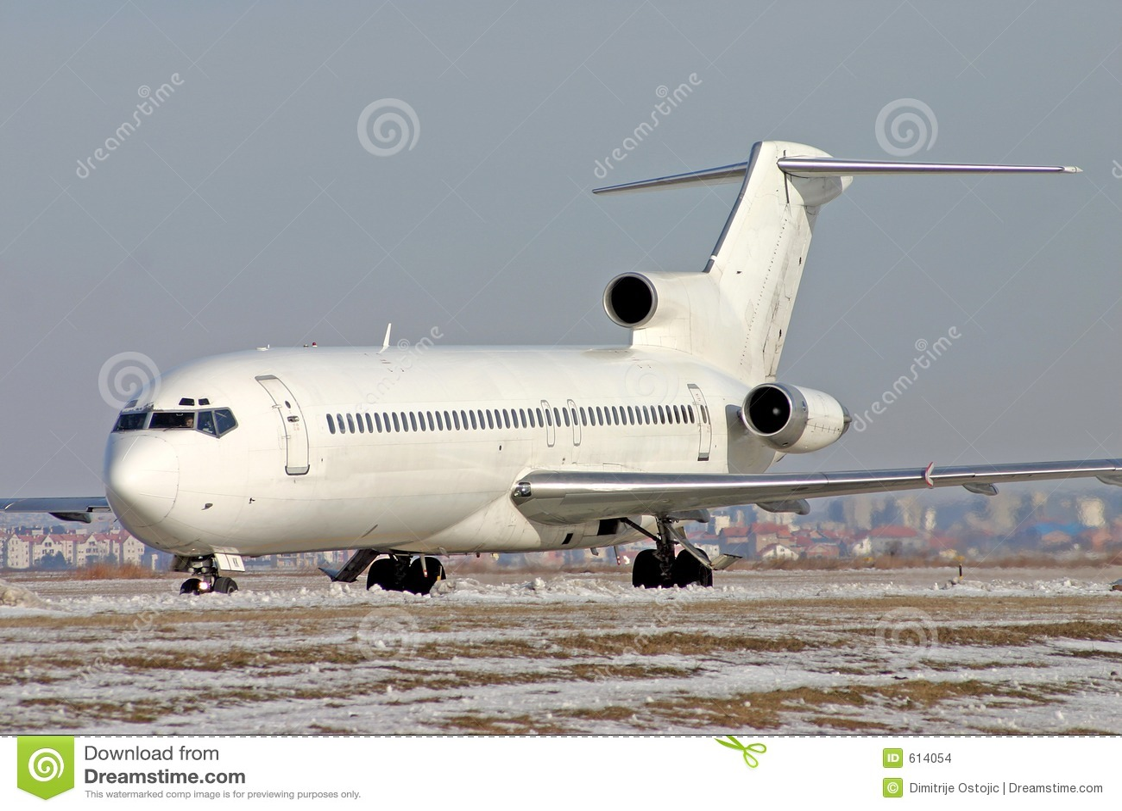 Vliegtuig Boeing 727