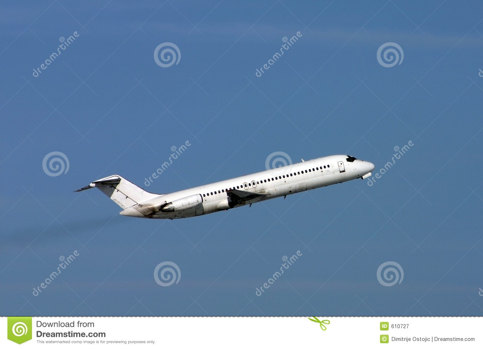 Vliegtuig DC9