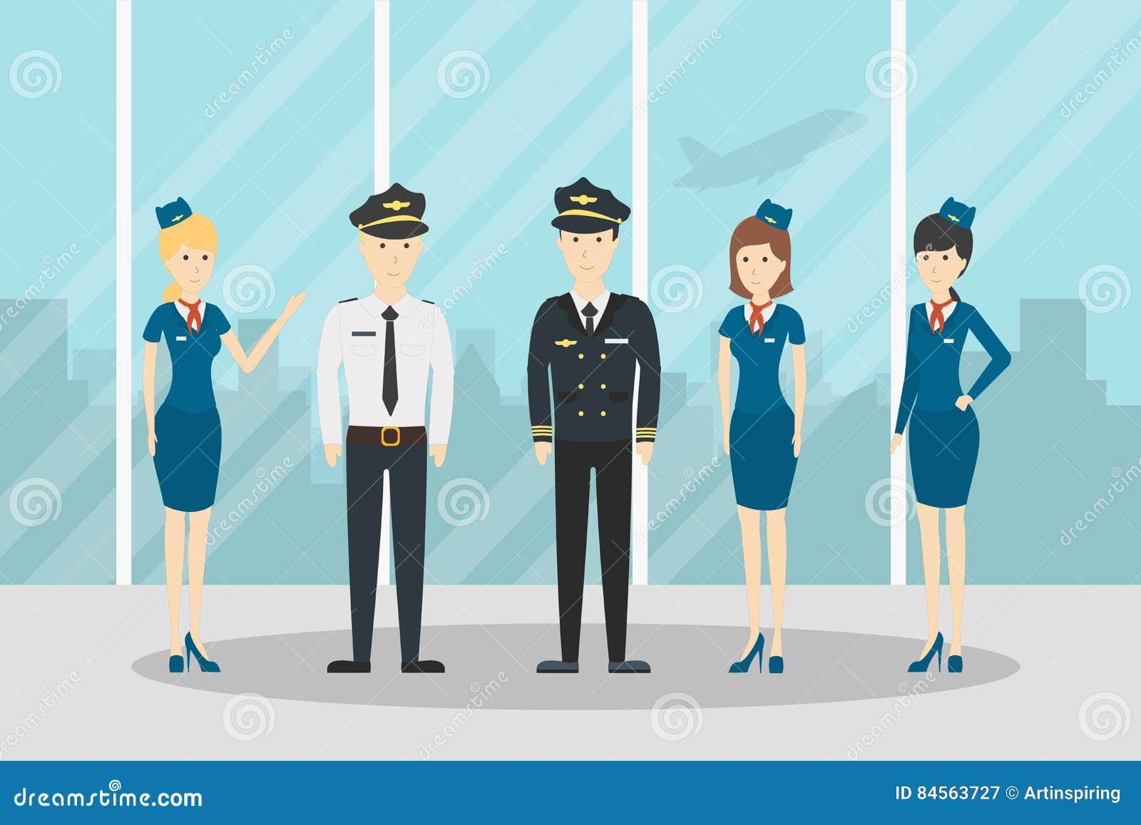 Vliegtuigvliegtuigbemanning