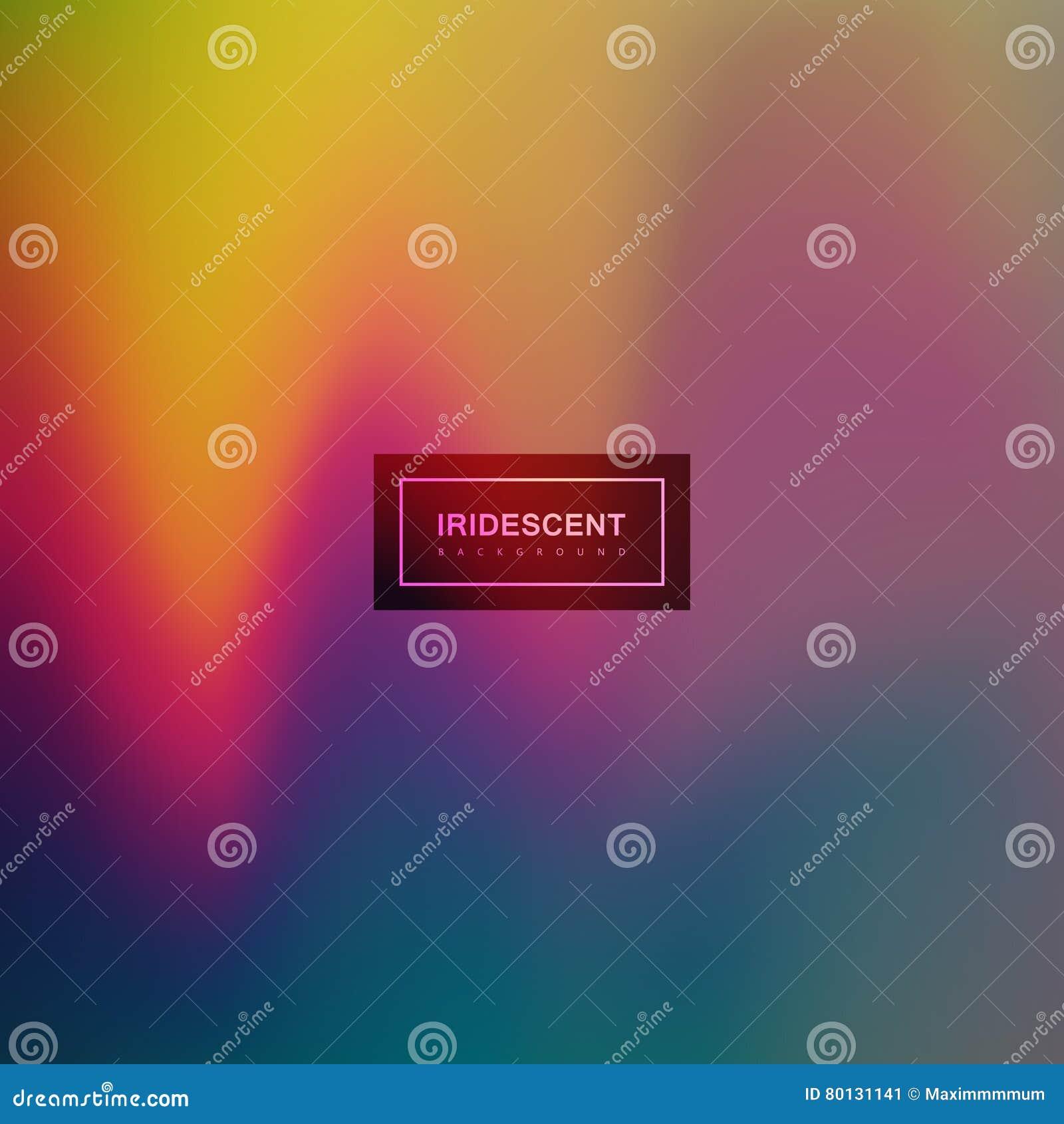Vloeibare iriserende multicolored achtergrond