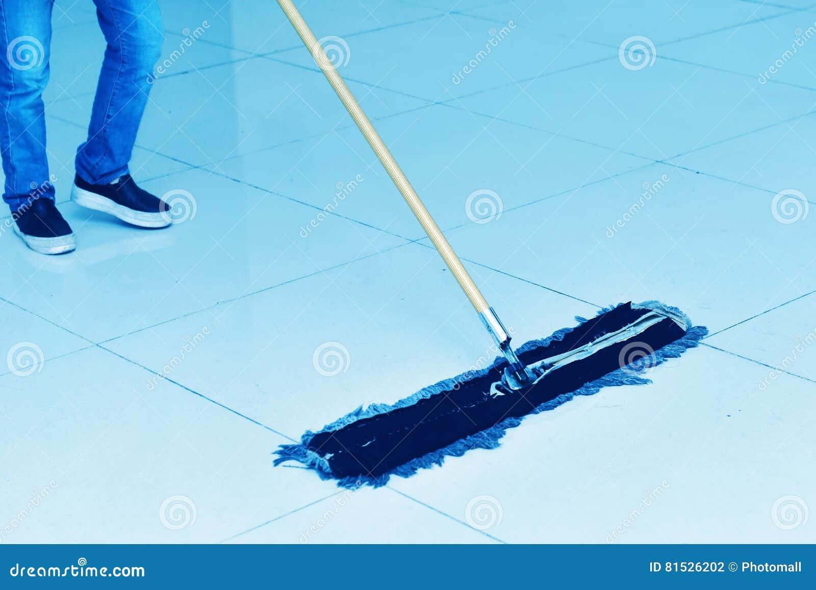 Vloer het schoonmaken