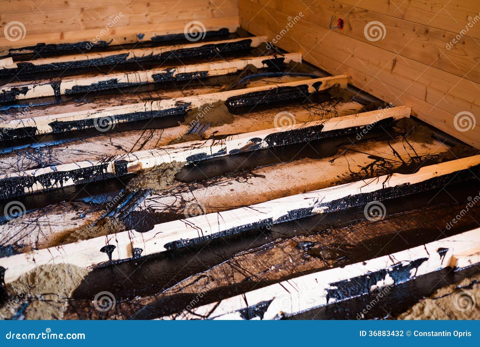 Vloerisolatie houten vloer broa vloerisolatie