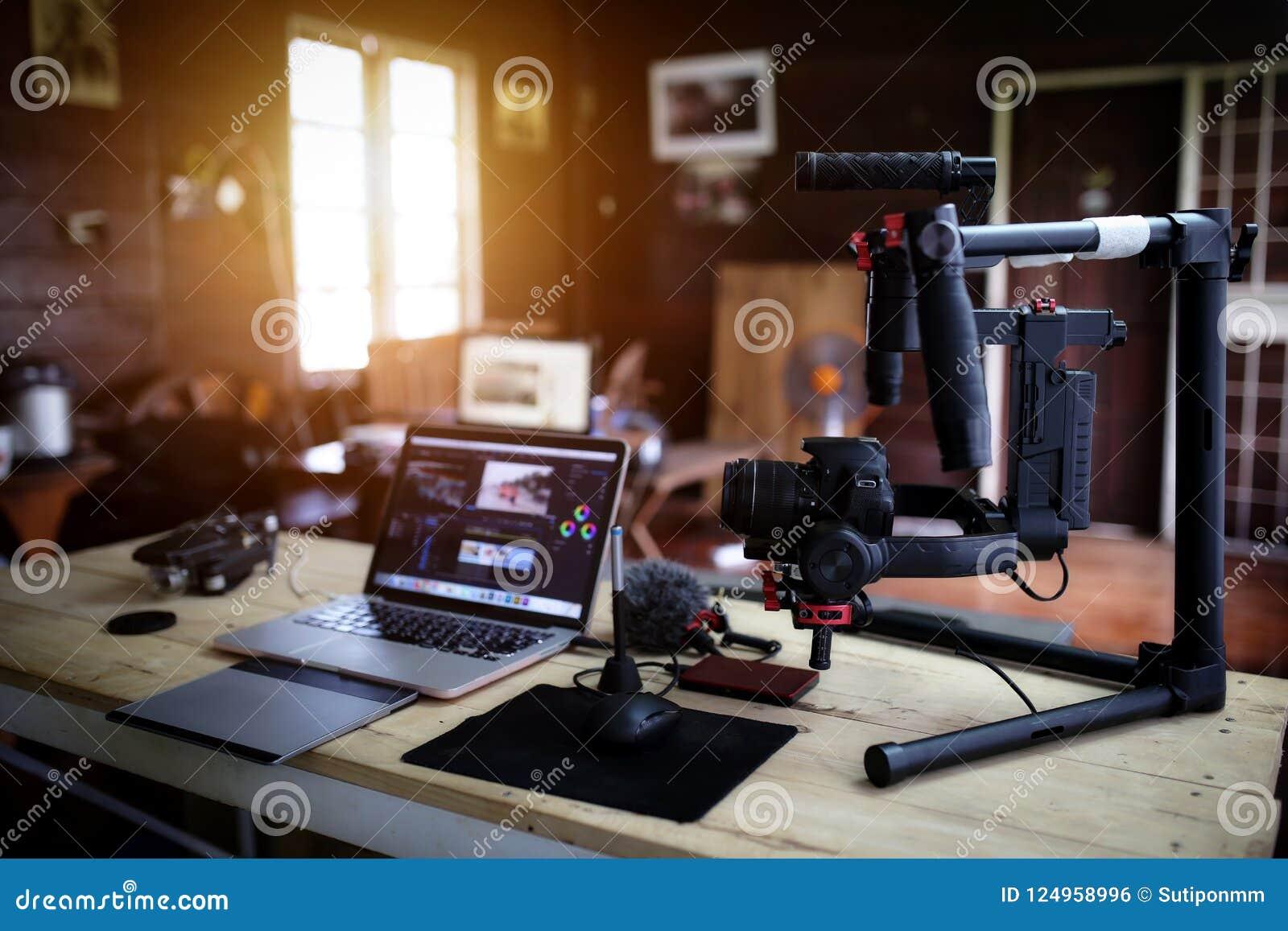 Vlogger wyposażenie dla Filmować film lub wideo blog
