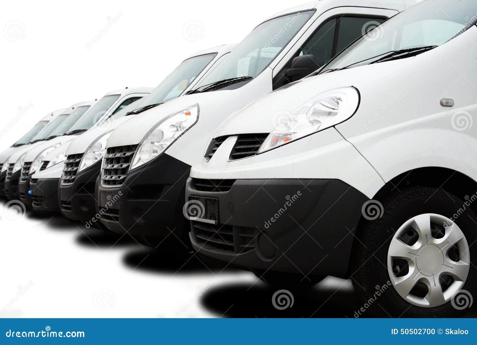 Vloot van bestelwagens