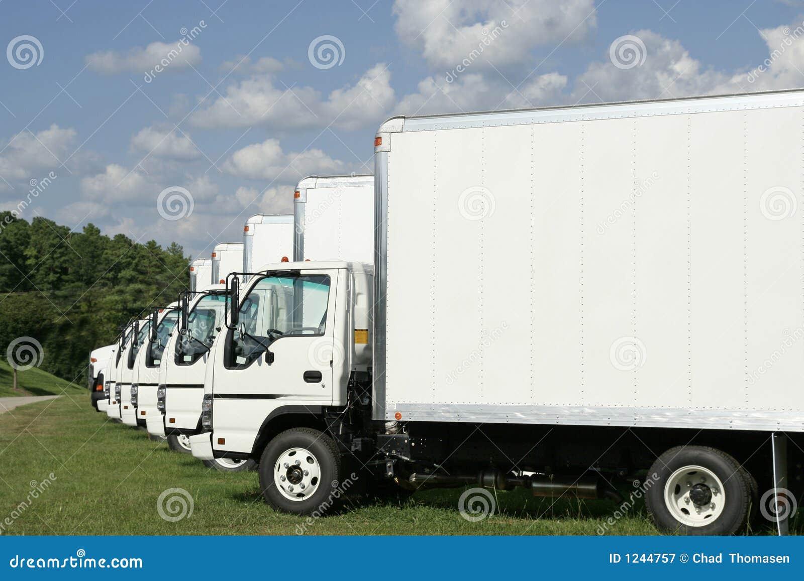Vloot van Vrachtwagens