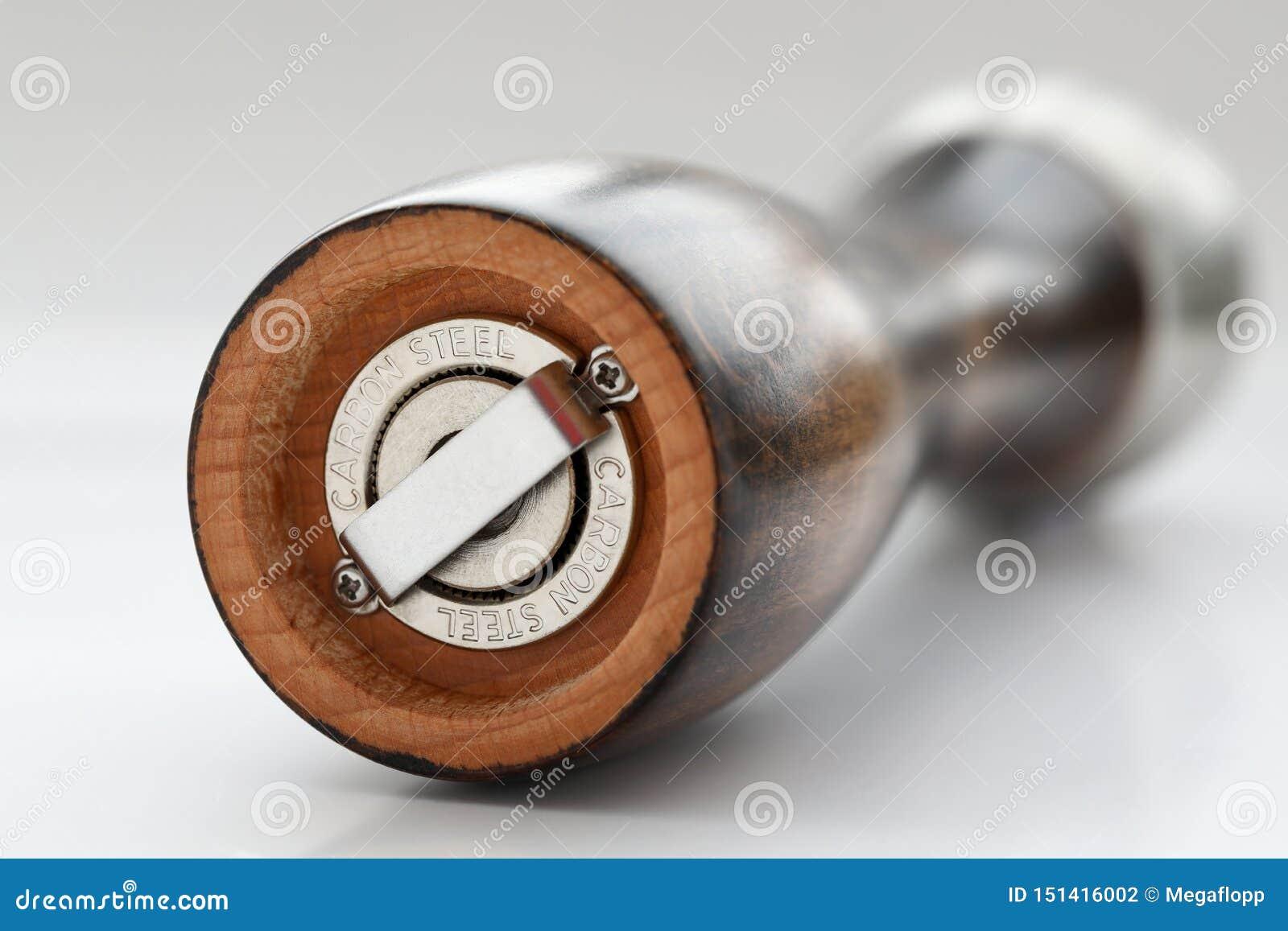 Vlotte houten de pepermolen van Nice met staalrotor