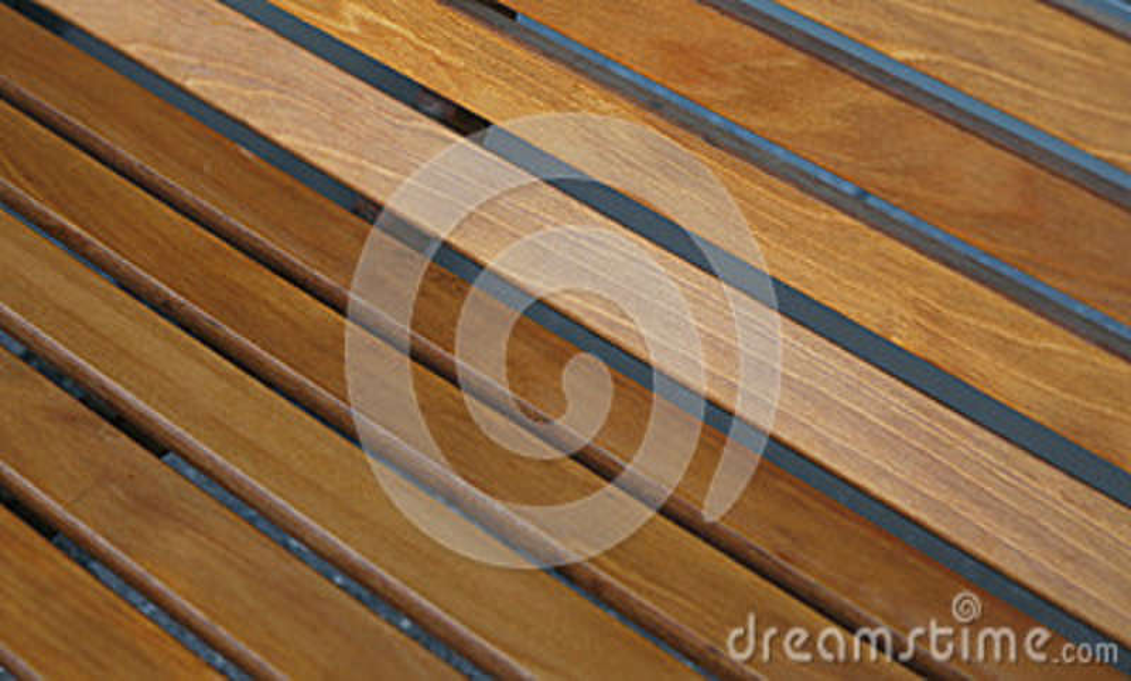 Vlotte houten planken