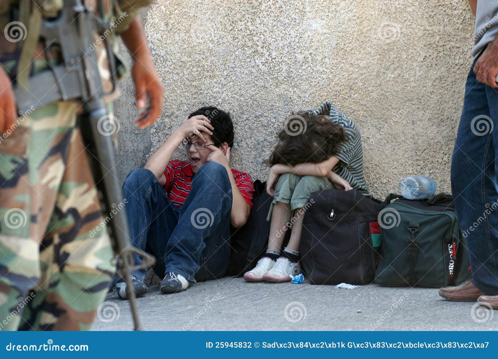 Vluchtelingen in Libanon