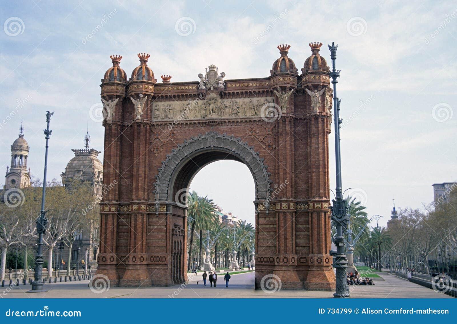 Voûte, Barcelone, Espagne