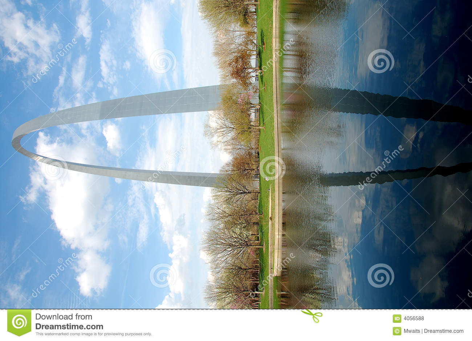 Voûte de Gateway à St Louis