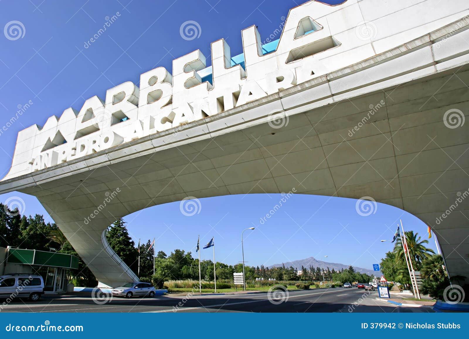 Voûte de Marbella dans San Pedro en Espagne