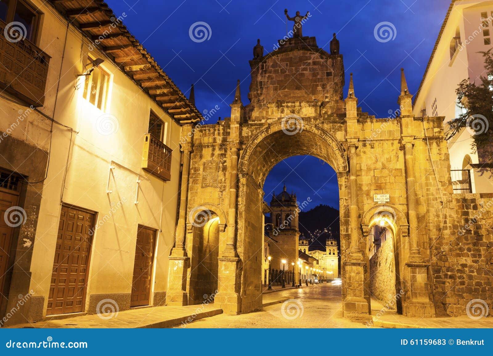 Voûte dans Cuzco