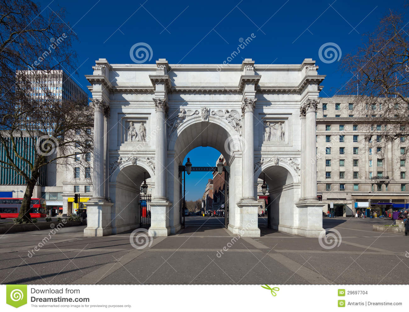 Voûte de marbre, Londres