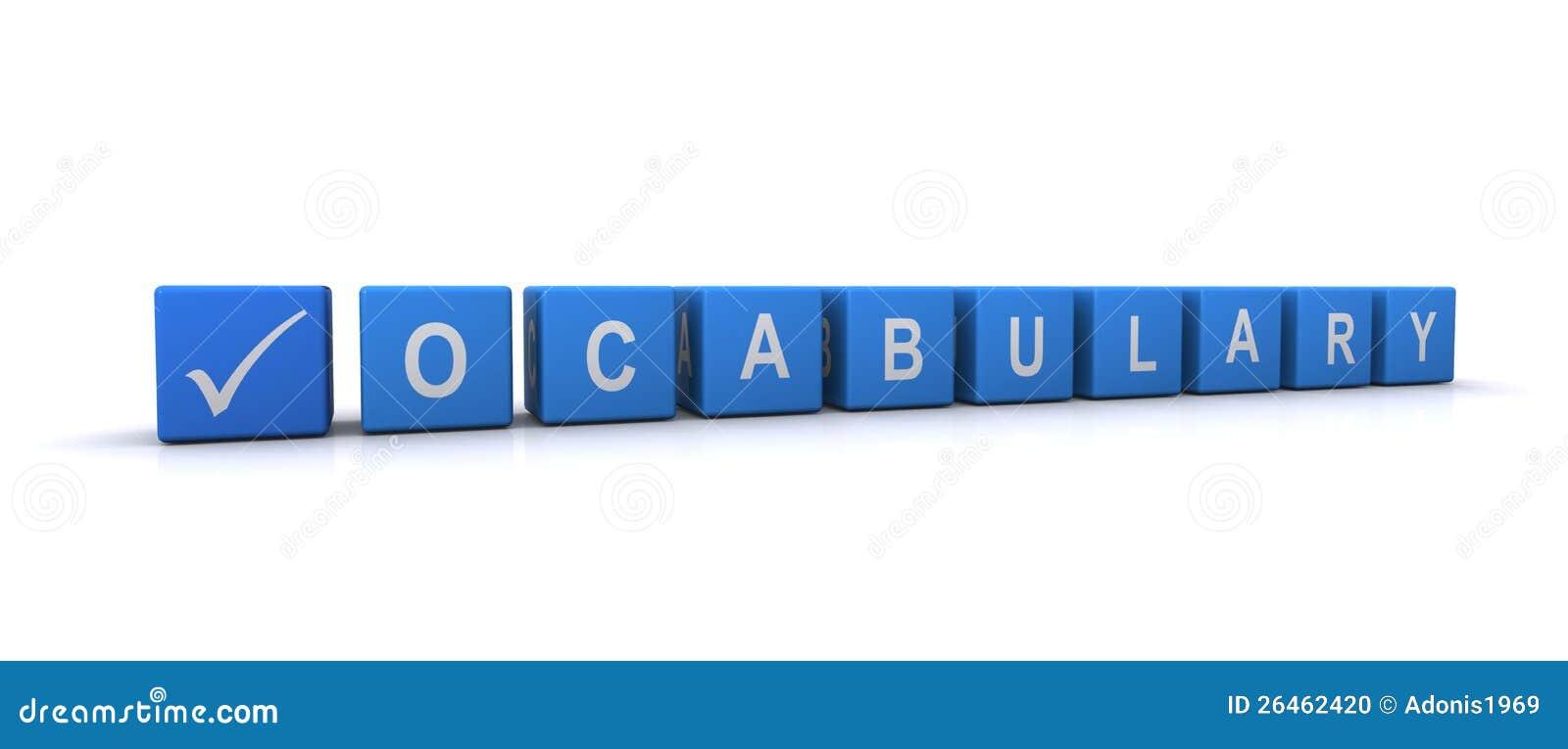 Worksheet Vacabulary vocabulary stock photo image 13297360 sign photo