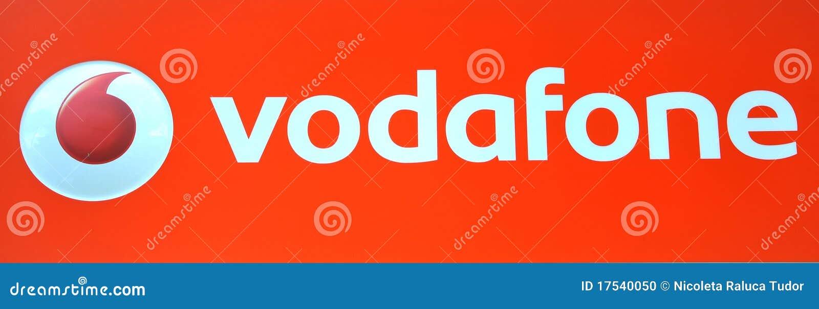 Vodafone логоса