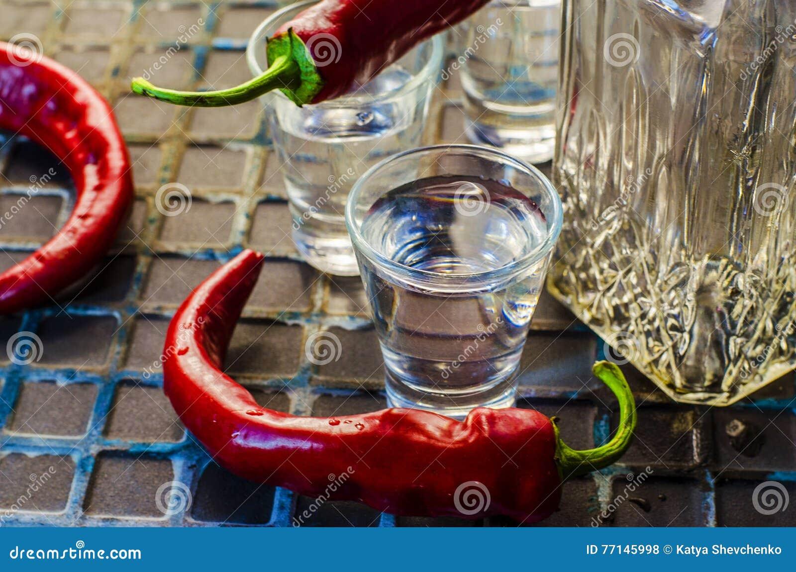 Vodka med peppar