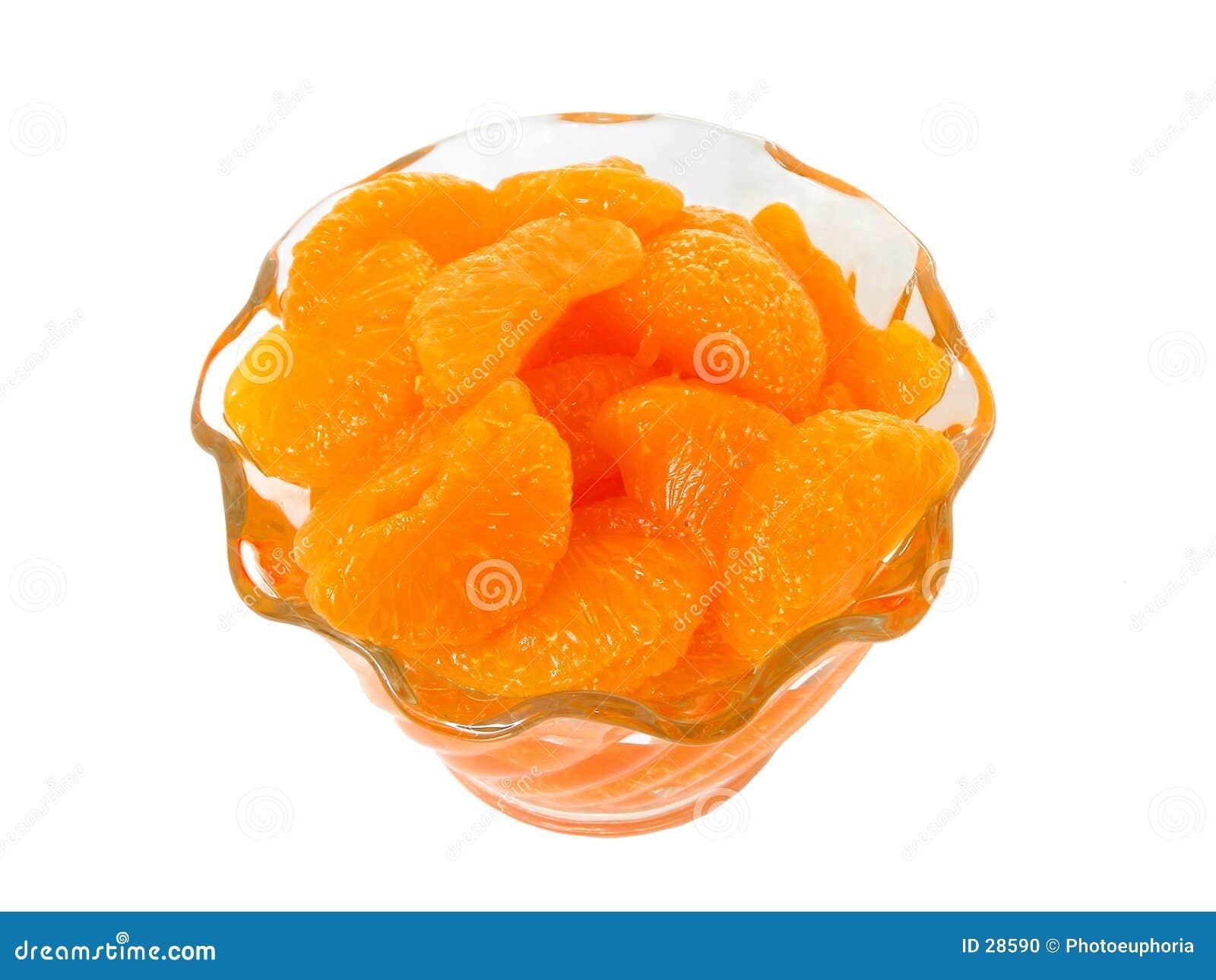 Voedsel: De Segmenten van het mandarijntje (2 van 2)