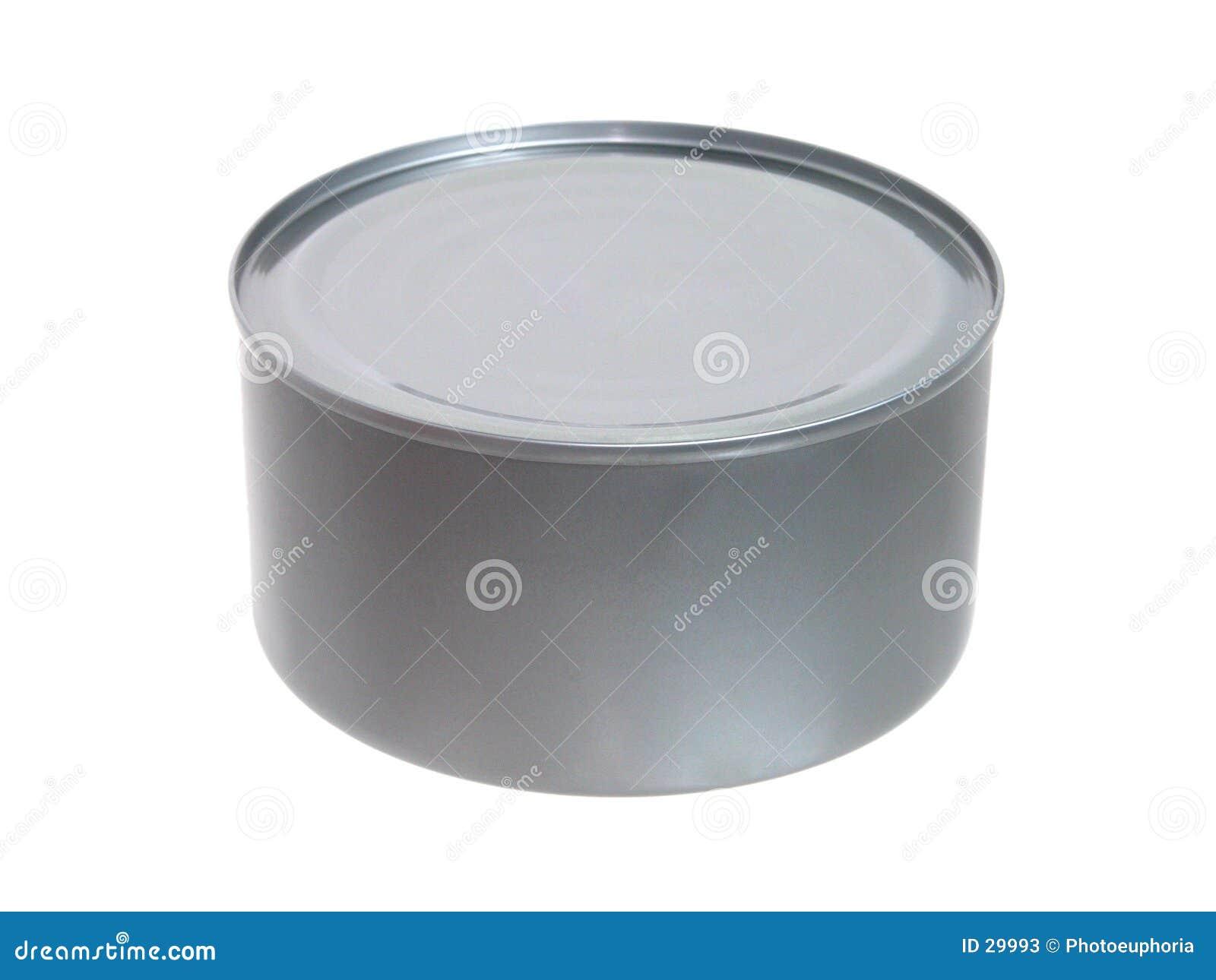 Voedsel: De tonijn in a kan Ongeopend