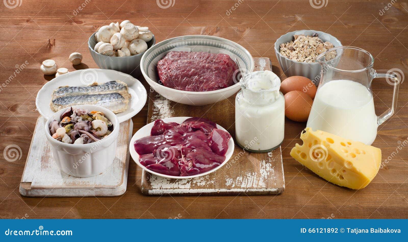 vitamine b voedsel