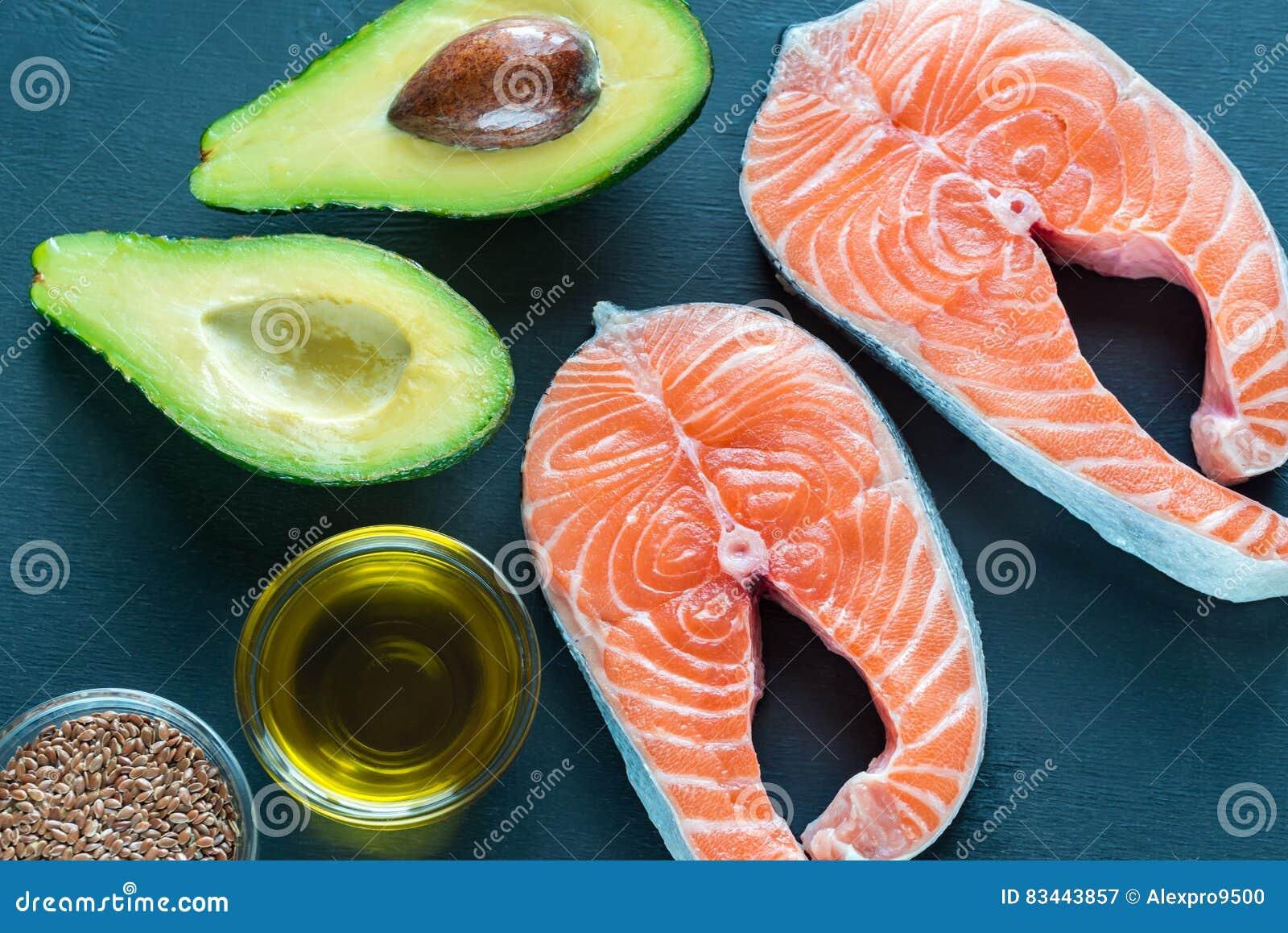 Voedsel met omega-3 vetten