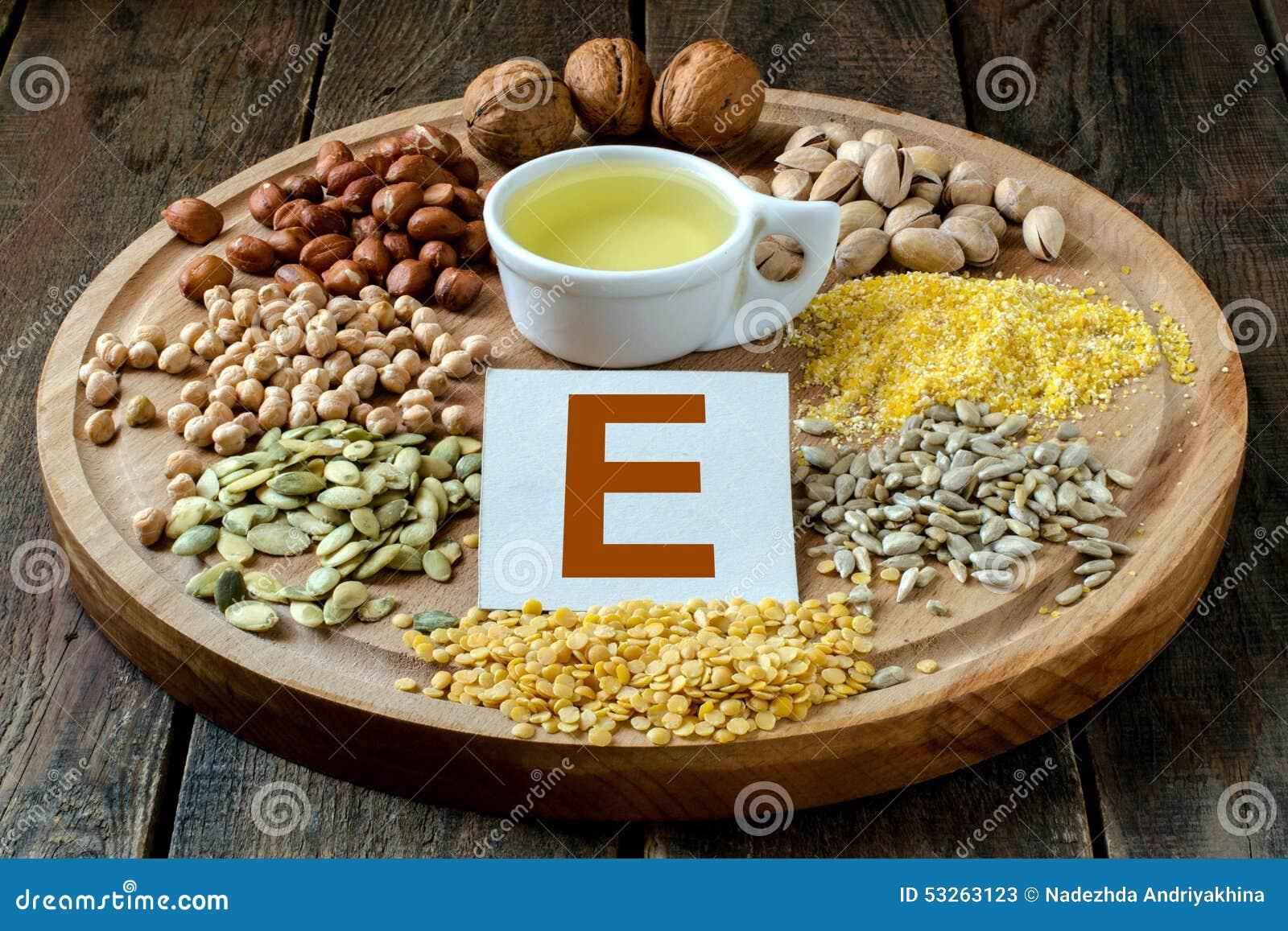 Voedsel met vitamine E