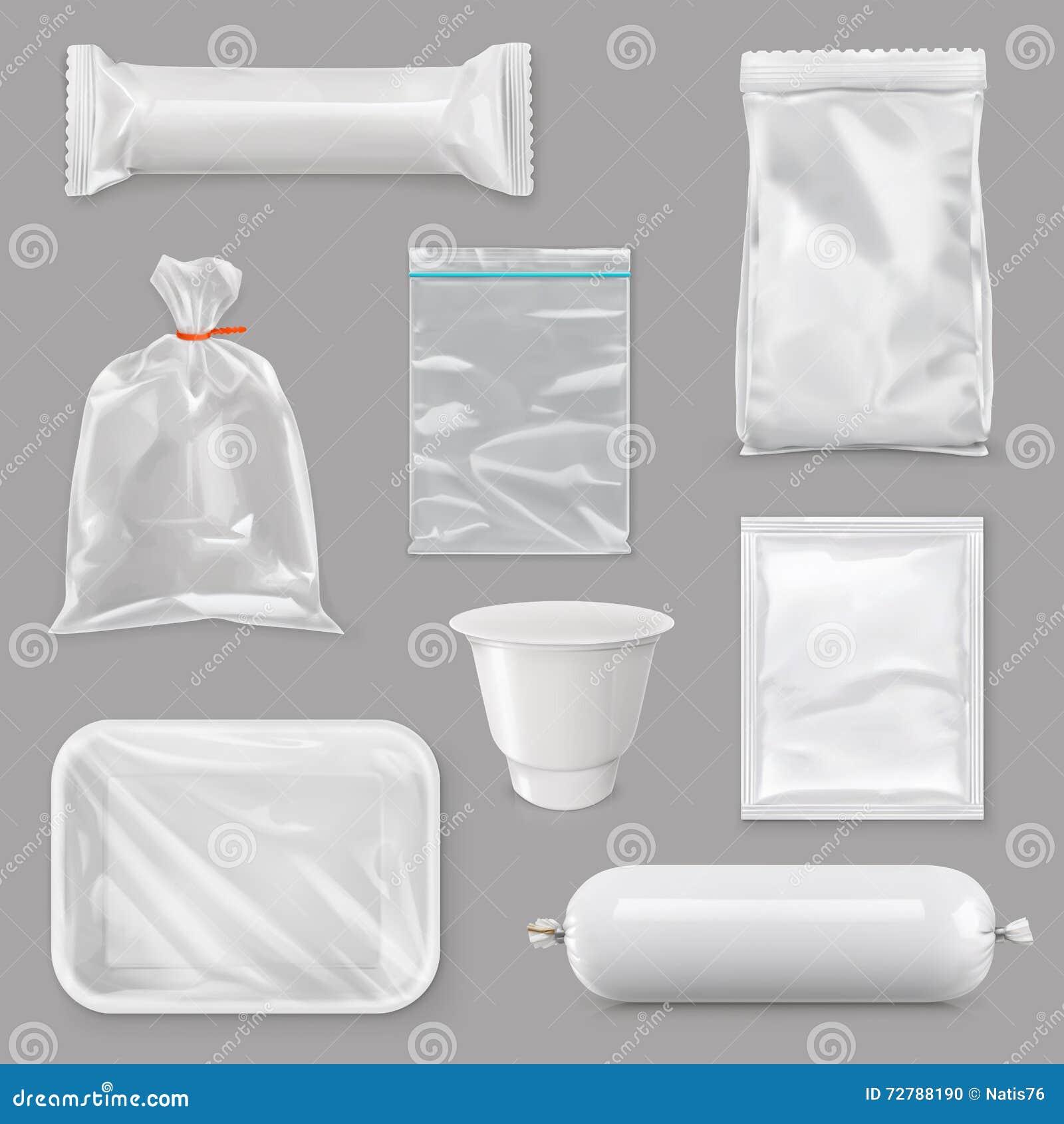 Voedsel verpakking voor verschillende snackproducten