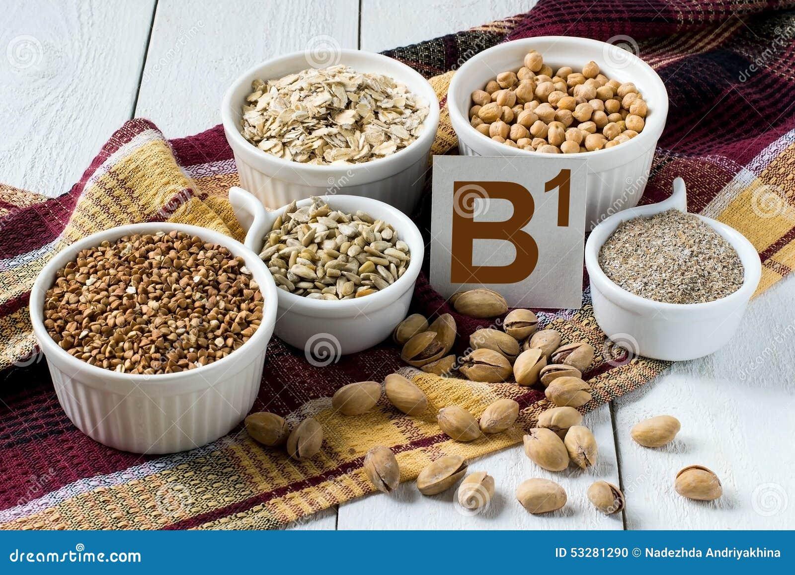 Voedselrijken in vitamine B1