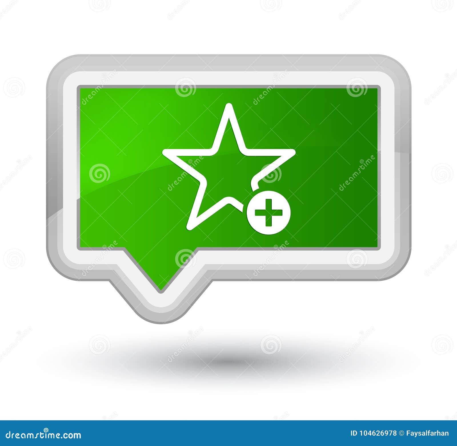 Download Voeg Aan De Favoriete Knoop Van De Pictogram Eerste Groene Banner Toe Stock Illustratie - Illustratie bestaande uit symbool, knoop: 104626978