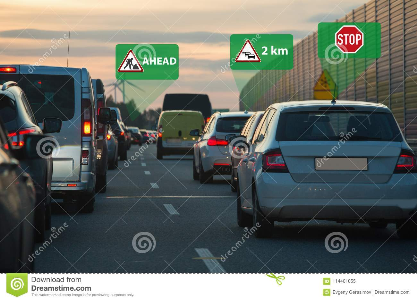 Voertuig aan voertuig mededeling