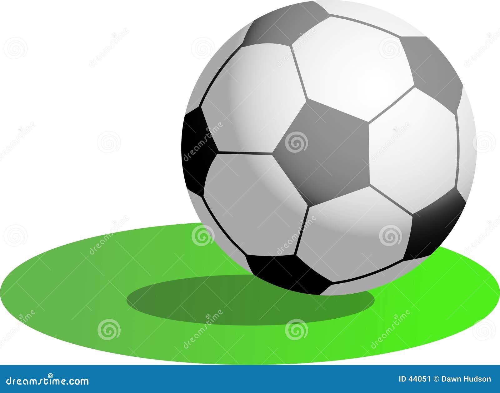 Download Voetbal stock illustratie. Illustratie bestaande uit team - 44051