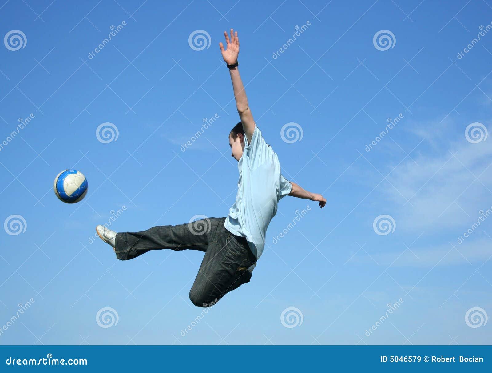 Royalty-vrije Stock Afbeeldingen: Voetbal