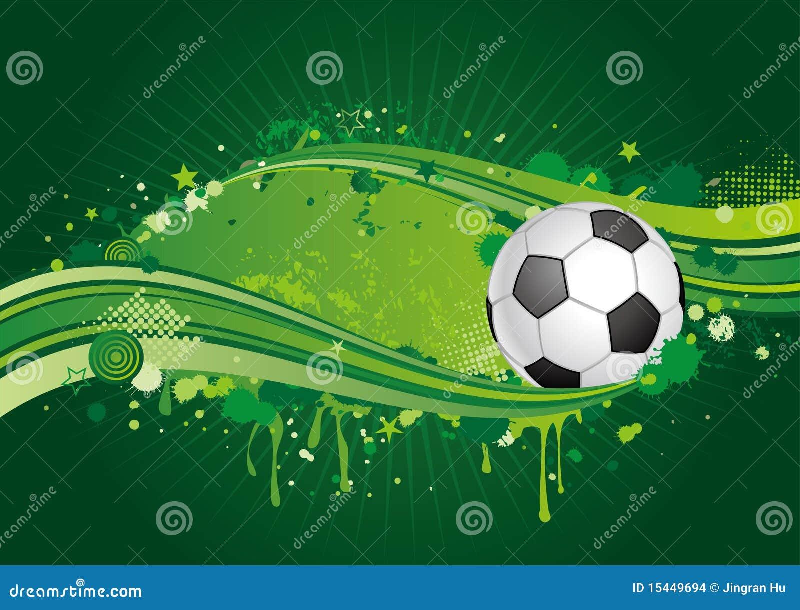 Stock Afbeeldingen: Voetbal achtergrond