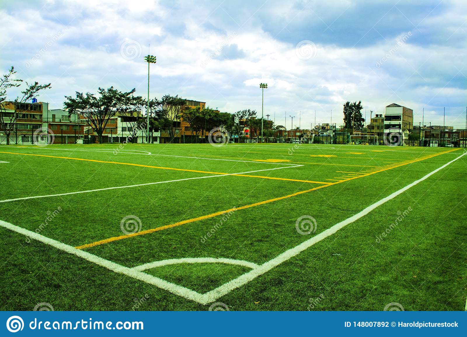 Voetbal en Voetbalgebied