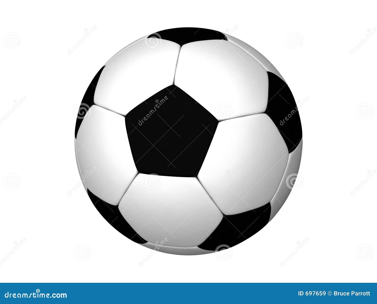 Royalty-vrije Stock Afbeeldingen: Voetbal of Voetbal