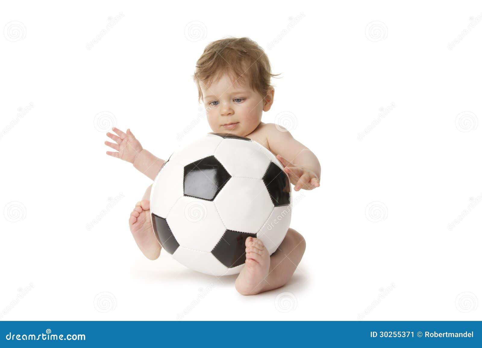Voetbalbaby stock afbeelding afbeelding bestaande uit fotografie 30255371 - Baby voet verkoop ...