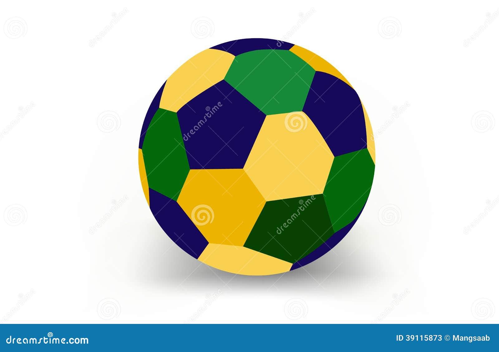 Voetbalbal van Brazilië