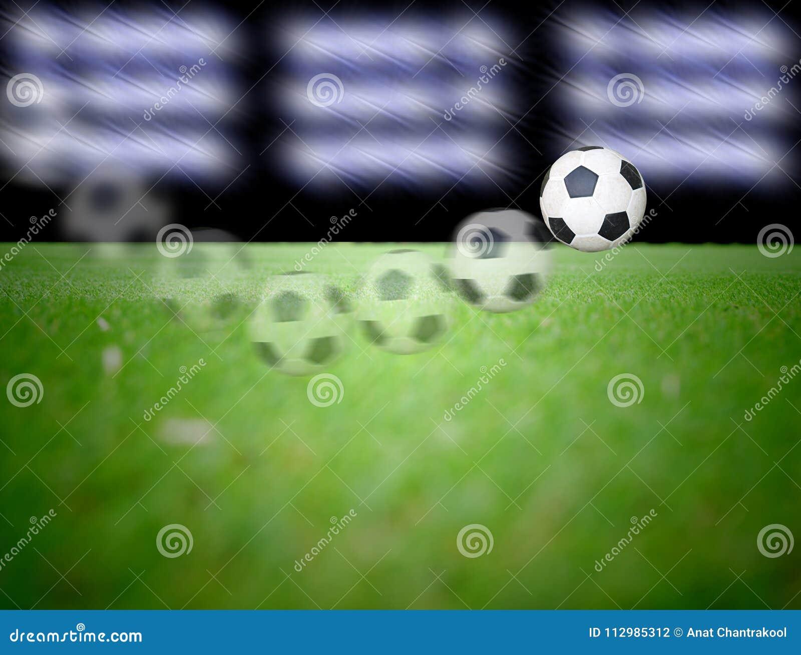 Voetbalgebied en de verstralers