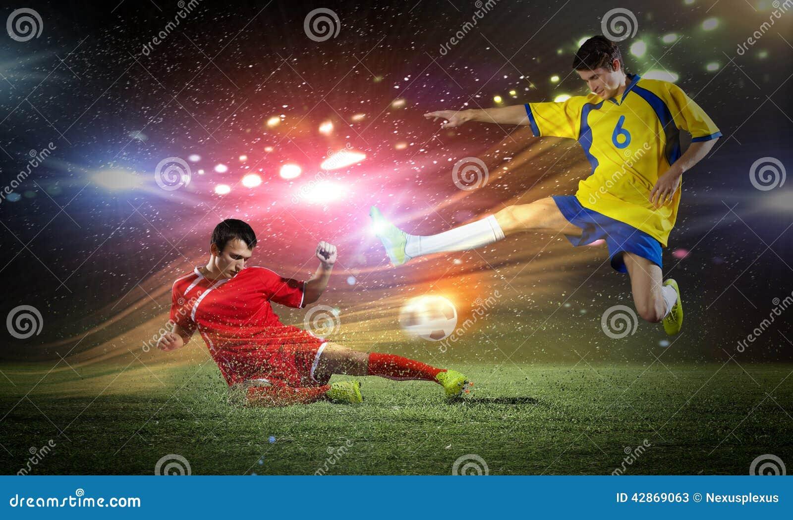 Voetbalspel