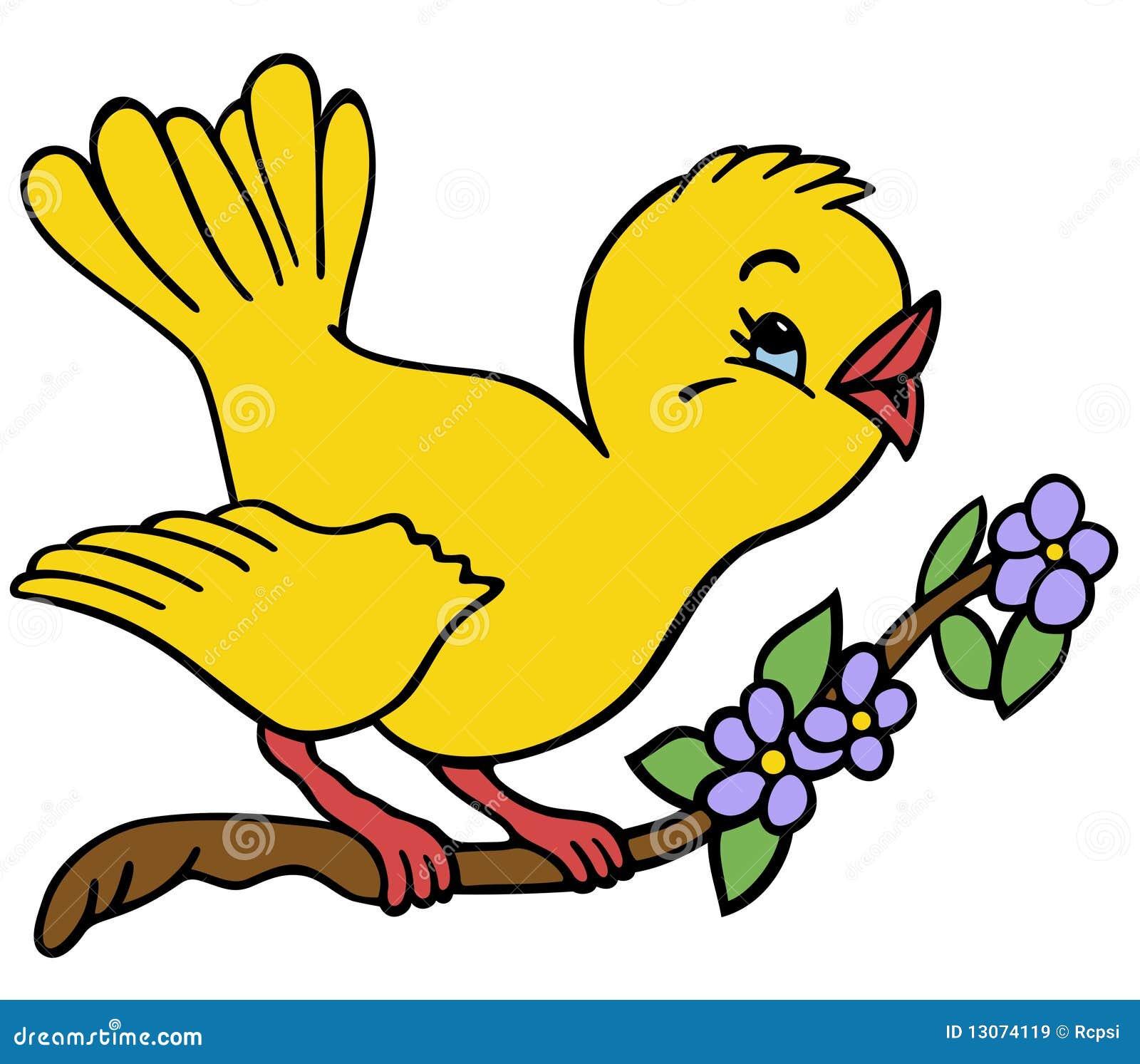 Vogel Auf Einem Zweig Lizenzfreie Stockbilder - Bild: 13074119