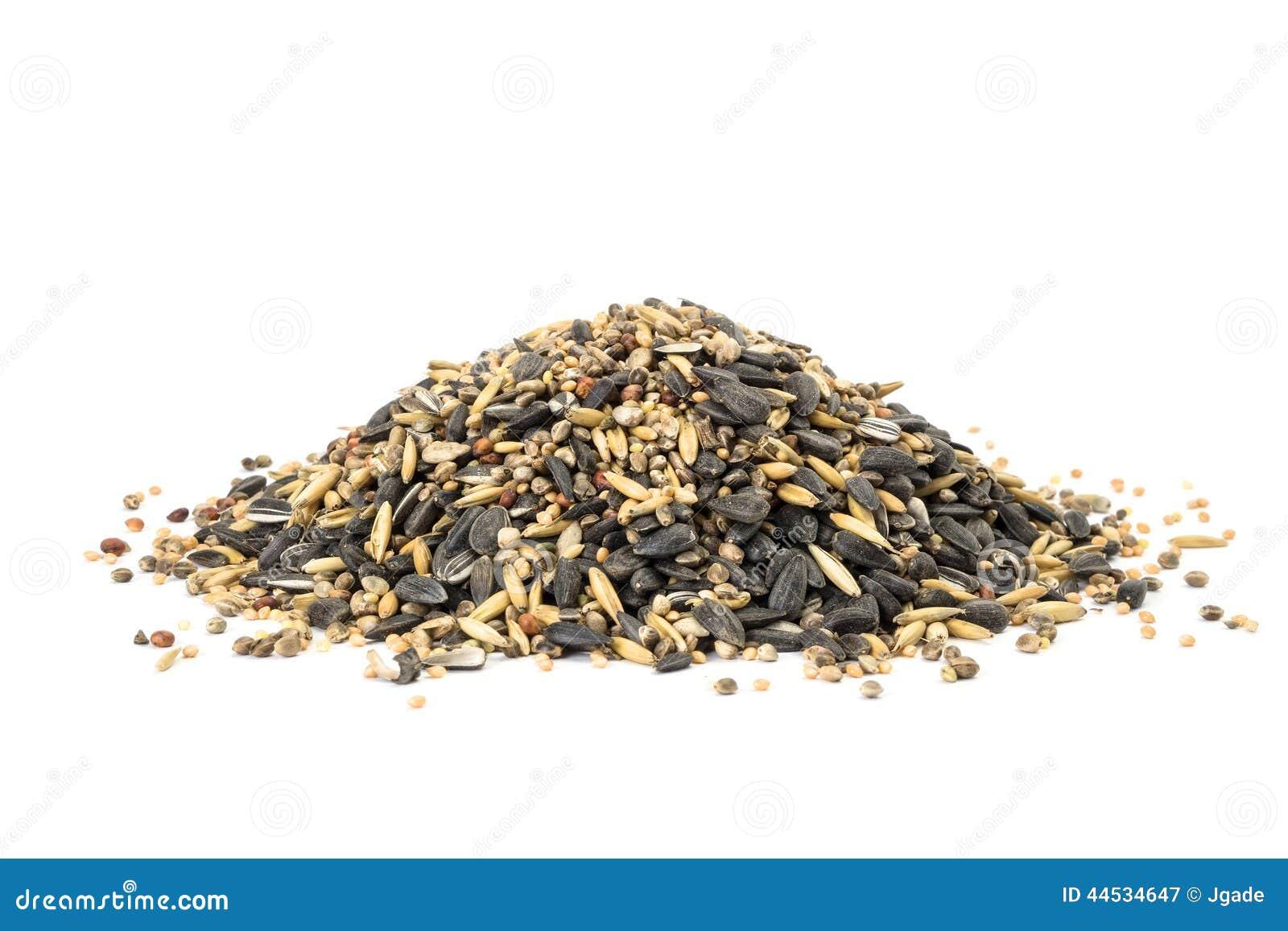 vogelfutter stockbild bild von braun hanf gemischt 44534647. Black Bedroom Furniture Sets. Home Design Ideas