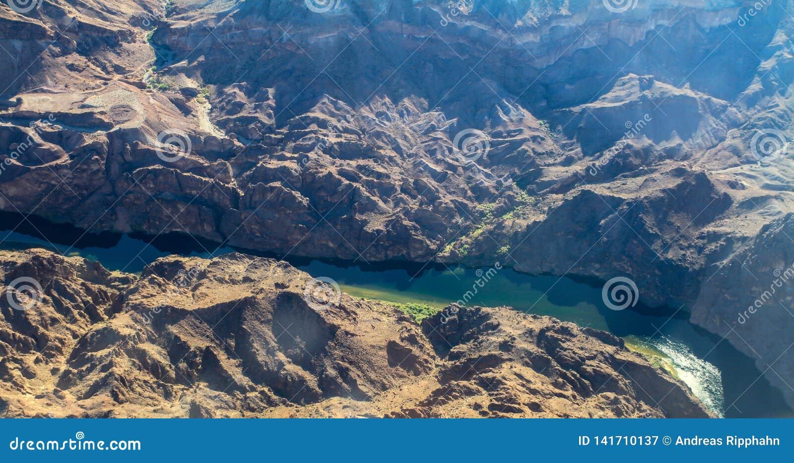 Vogelperspektive des Colorados, USA