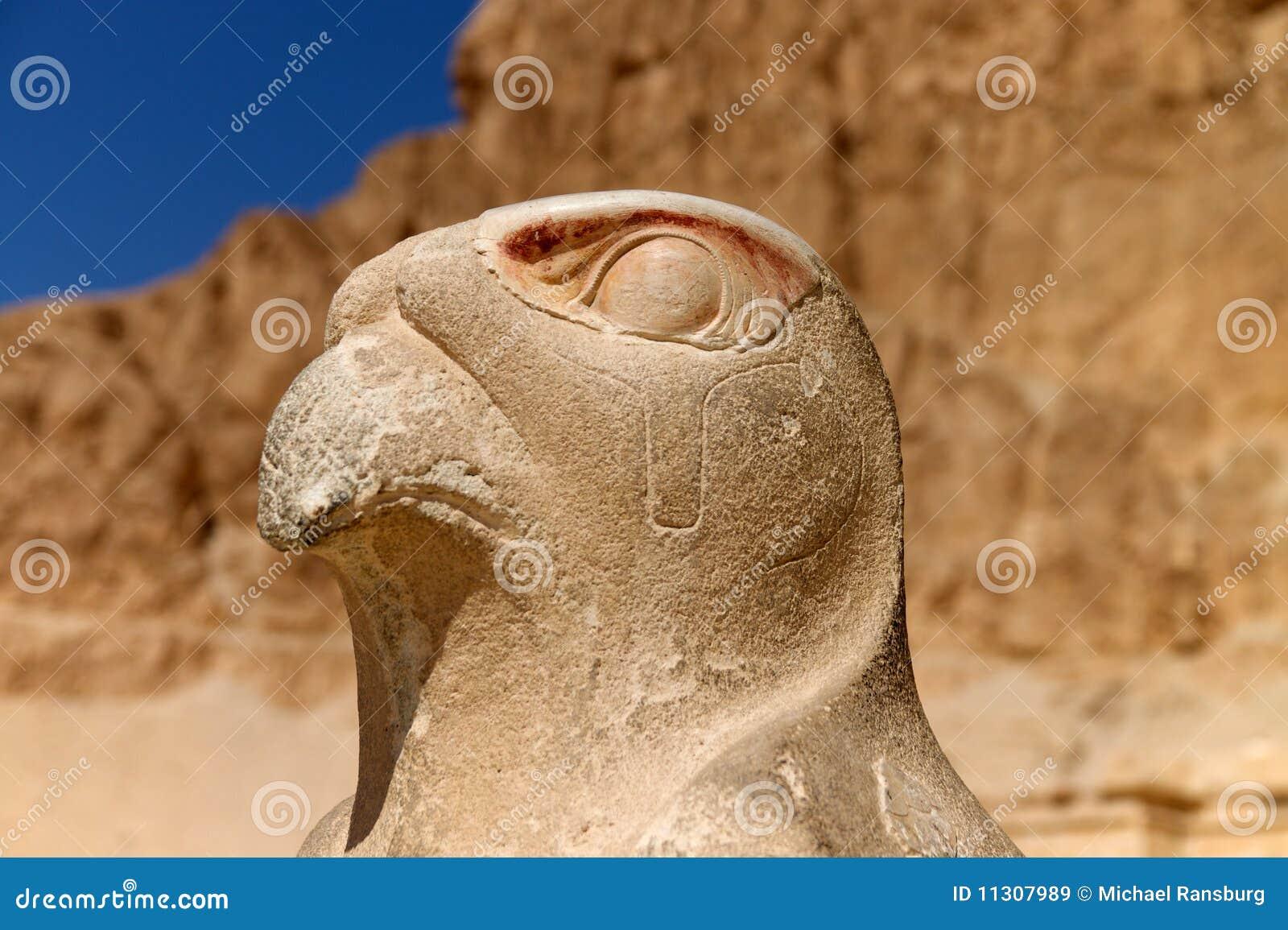Vogelstatue in Ägypten