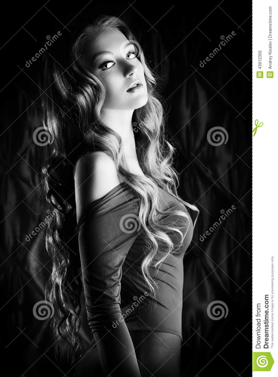 caecea8d0f03 Vogue lady stock photo. Image of coiffure